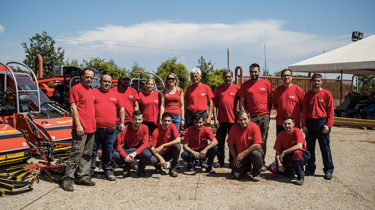 gf macchine agricole team