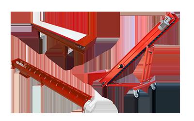 GF costruzione macchine agricole nastri trasportatori